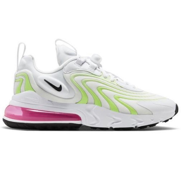 Nike Shoes Air Max 270 React Eng Whiteghost Greenpink Poshmark